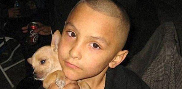 Gabriel Fernandez, morto pelo padrasto, em 2013