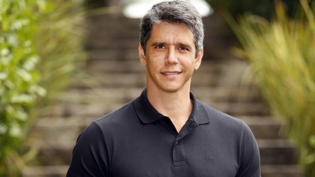 O apresentaddor Márcio Garcia